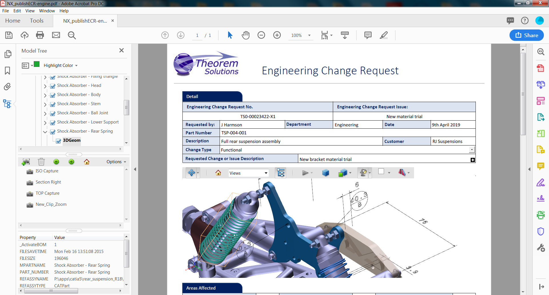 3DPDF - Engineering Change Request