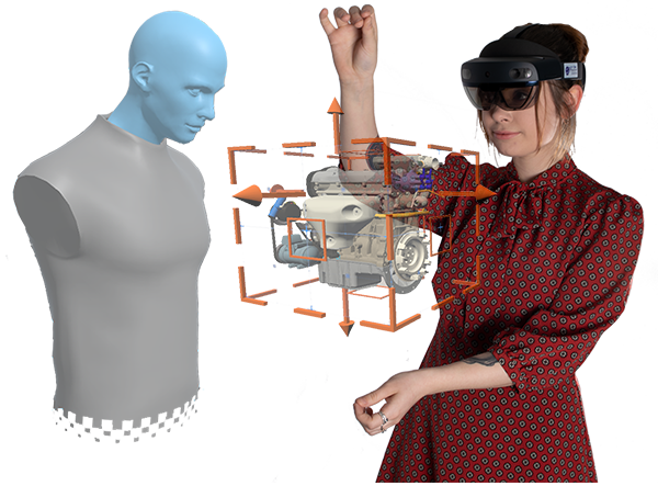 Microsoft HoloLens 2 HoloLens2 and Avatar Design