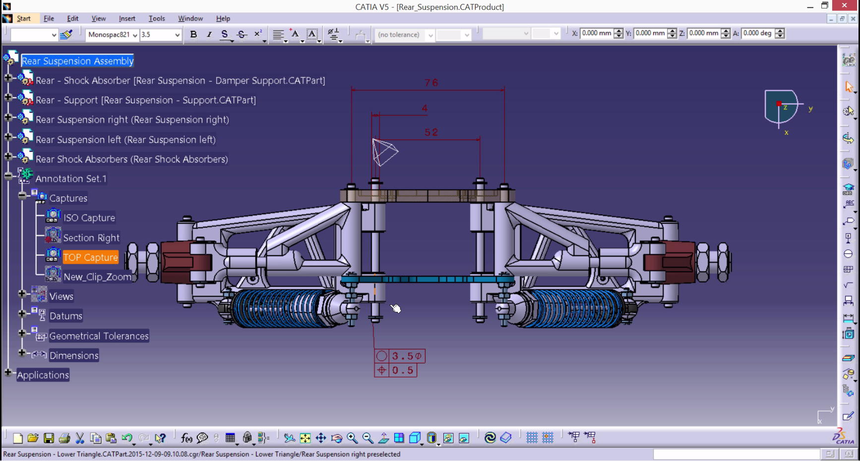CATIA-Suspension