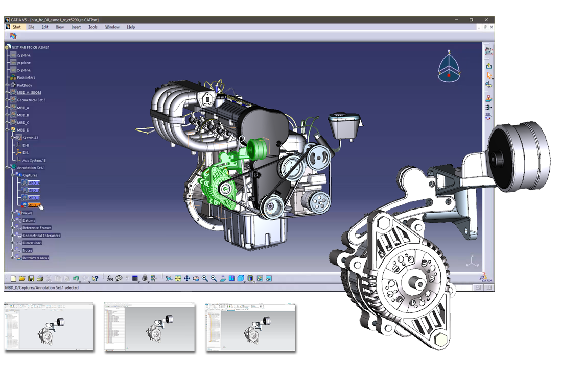 Multi-CAD-FOrmats