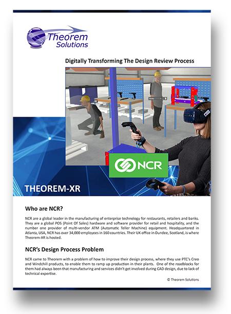 NCR - USer Story - Theorem XR-1