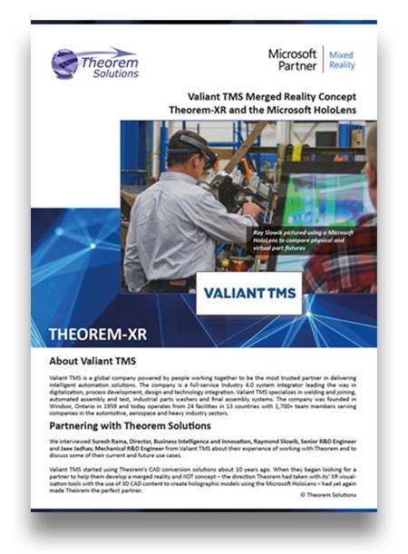 Valiant - USer Story - Theorem XR-2